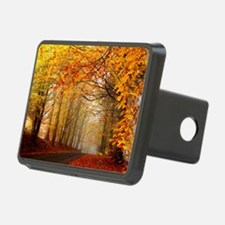 Road At Autumn Hitch Cover