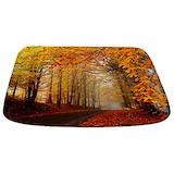 Autumn Memory Foam Bathmats