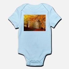Road At Autumn Body Suit