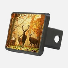 Deer In Autumn Forest Hitch Cover