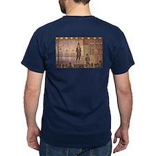 Circus Parade painting by Seurat T-Shirt