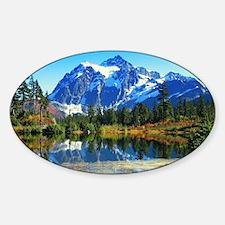 Mountain At Autumn Decal