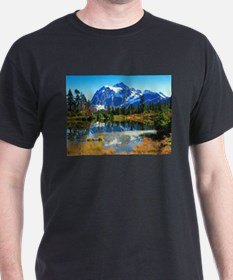 Mountain At Autumn T-Shirt