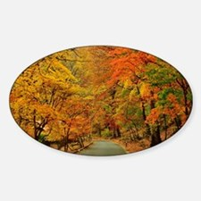 Park At Autumn Decal