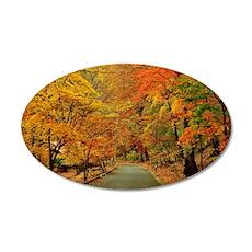 Park At Autumn Wall Sticker