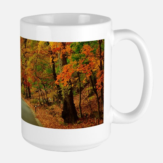 Park At Autumn Mugs