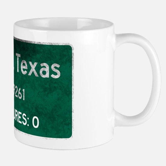 Jarden, Texas Road Sign Mugs
