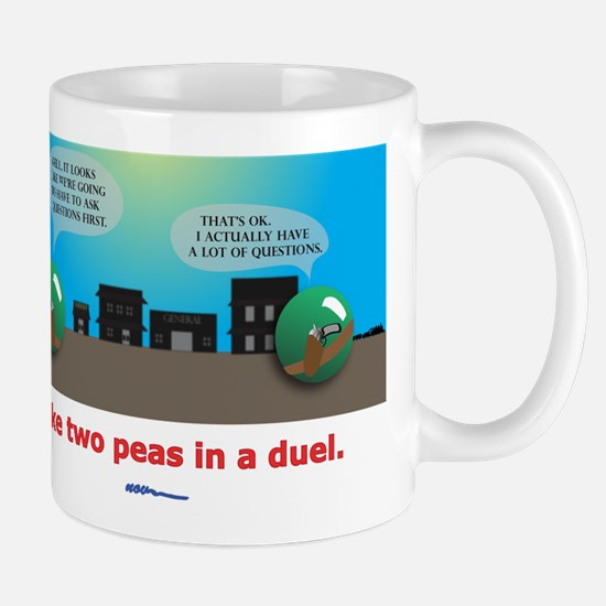 ...in a duel Mugs