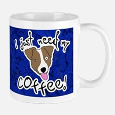 Wired Jack Russell Mug