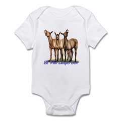 Mules, he who laughs Infant Bodysuit