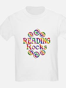 Colorful Reading Rocks T-Shirt