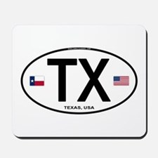 Texas Euro Oval - TX Mousepad