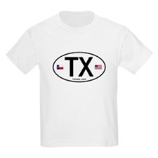 Texas Euro Oval - TX T-Shirt