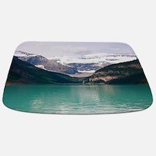 mountain landscape lake louise Bathmat