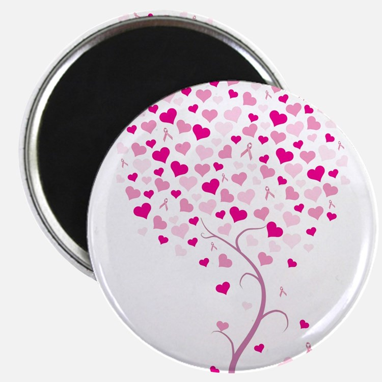 Cute Breast cancer Magnet