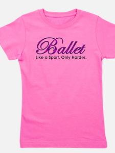 Funny Ballet bears Girl's Tee