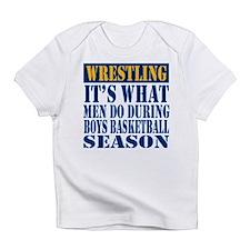 Funny Wrestler Infant T-Shirt