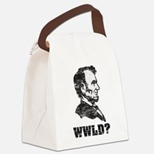 lincoln.png Canvas Lunch Bag