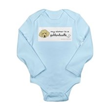 Cute Brothers and sisters Long Sleeve Infant Bodysuit