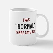 I was normal three cats ago Mug
