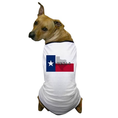 Texas Flag Extra Dog T-Shirt