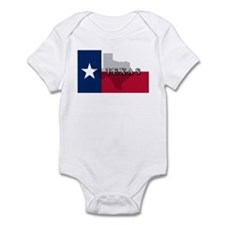 Texas Flag Extra Infant Bodysuit