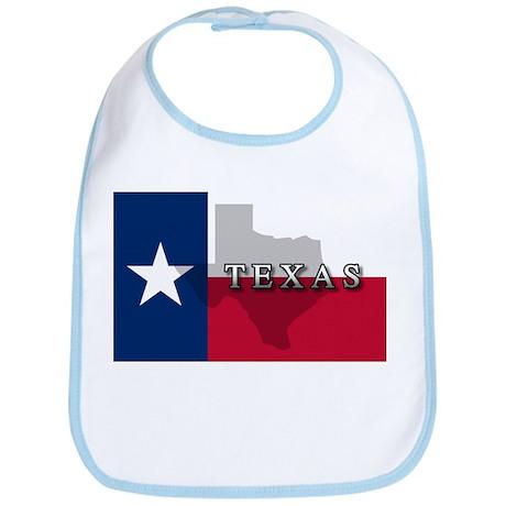 Texas Flag Extra Bib