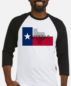 Texas Flag Extra Baseball Jersey
