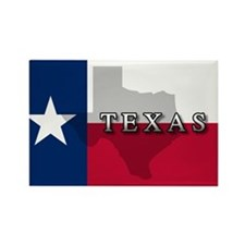 Texas Flag Extra Rectangle Magnet