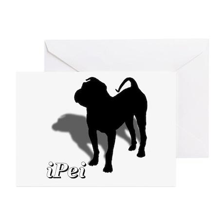 iPei Greeting Cards (Pk of 10)