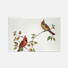 Cardinal Couple Magnets