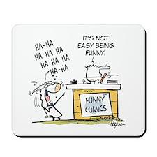 Rory's Funny Comics. Mousepad
