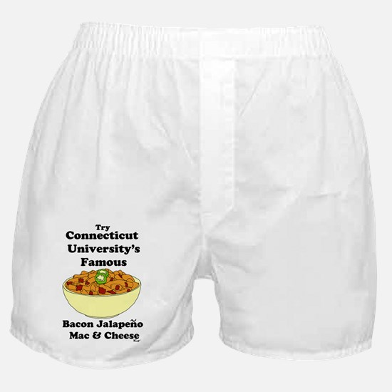 connecticut university's mac and chee Boxer Shorts