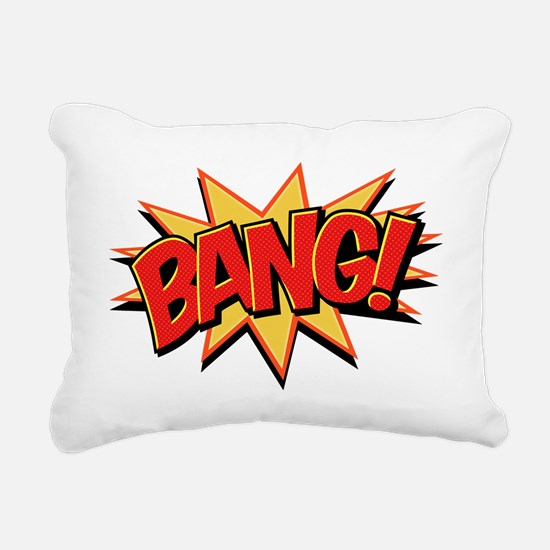 Bang! Rectangular Canvas Pillow