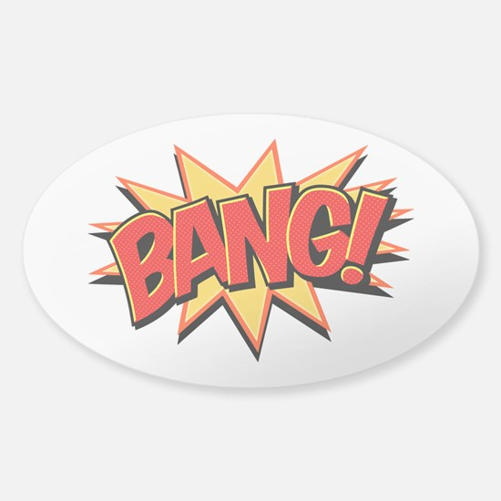 Bang! Sticker (Oval)