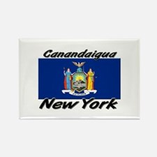 Canandaigua New York Rectangle Magnet
