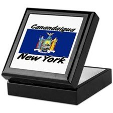 Canandaigua New York Keepsake Box