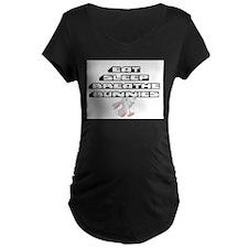 Eat, Sleep, Breathe, Bunnies Maternity T-Shirt
