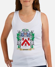 Casey Coat of Arms - Family Crest Tank Top