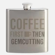 Coffee Then Gemcutting Flask