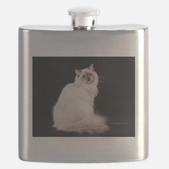 Cute Ragdoll Flask
