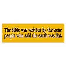 THE BIBLE Bumper Bumper Bumper Sticker