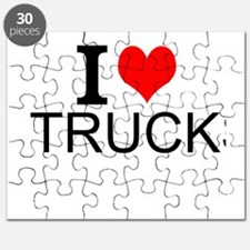 I Love Trucks Puzzle