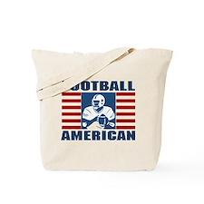 Football American Tote Bag