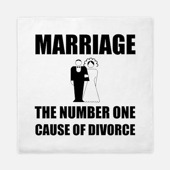 Cause Of Divorce Queen Duvet