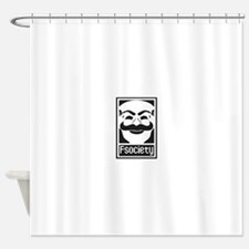 Funny Society Shower Curtain