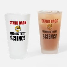 Try Science Drinking Glass