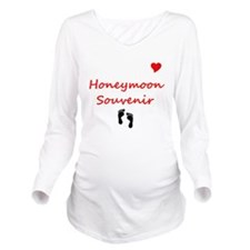 Funny Honeymoon Long Sleeve Maternity T-Shirt