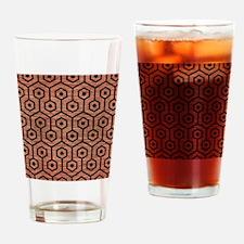 HXG1 BK MARBLE COPPER (R) Drinking Glass