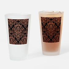 DMS1 BK MARBLE COPPER Drinking Glass